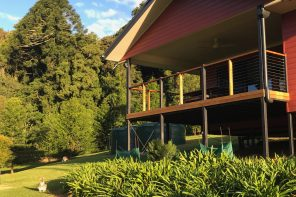 Bunya Mountains Birdsong Back Deck