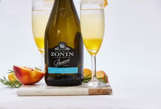 Peach Cocktail Zonin Prosecco