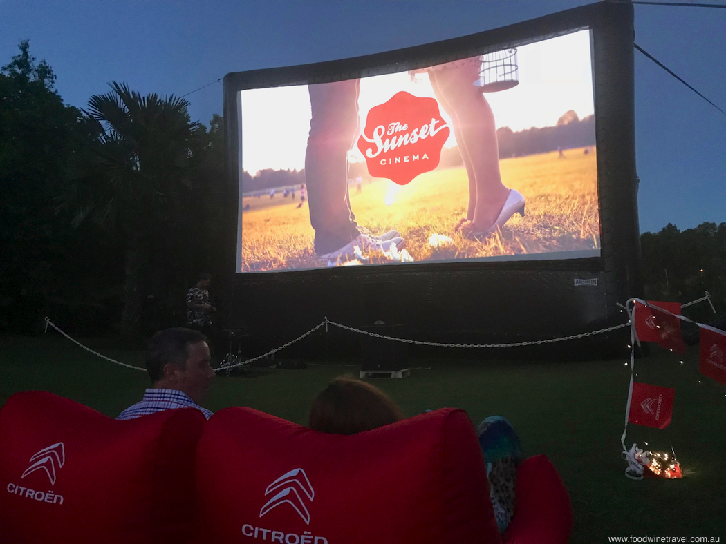 Sunset Cinema In Mount Coot-Tha Botanic Gardens Brisbane