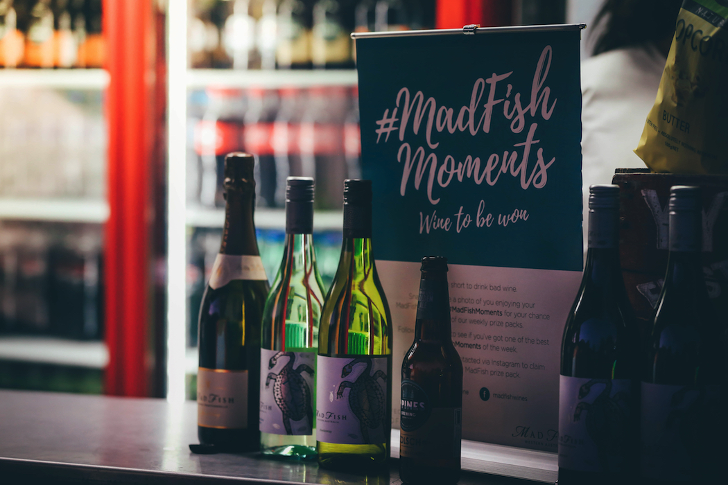 Sunset Cinema In Mount Coot-Tha Botanic Gardens Brisbane MadFish Wines