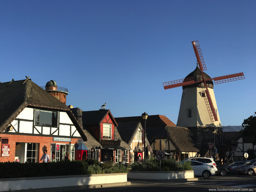 Solvang Streetscape California's Danish village
