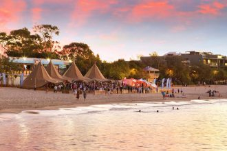 Noosa Main Beach Noosa Food and Wine Festival