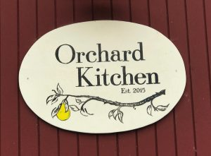 IFWTWA Whidbey Island Orchard Kitchen Restaurant Sign