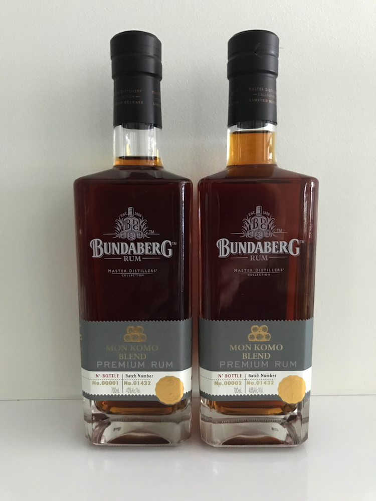 Bundaberg Blend Your Own Rum Mon Komo Bottles