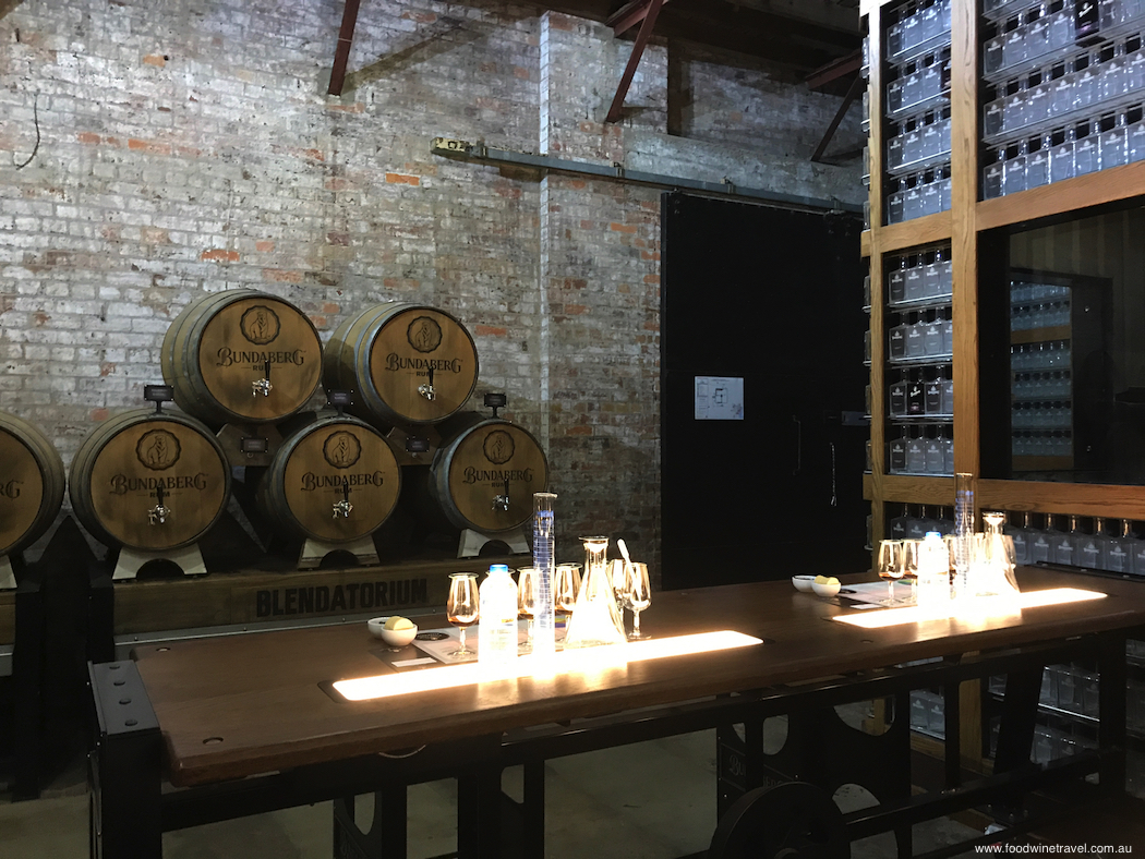 Bundaberg Rum Blend Your Own Rum Experience Room