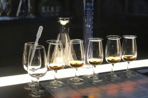 Bundaberg Rum Line Up Of Glasses