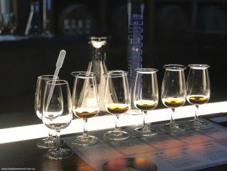 Bundaberg Rum Line Up Of Glasses