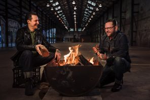 Carriageworks Burning Love Night Market Ben Milgate and Elvis Abrahanowicz