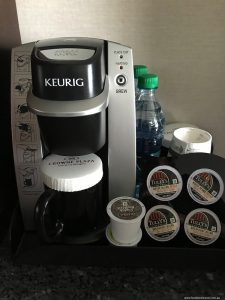 Crowne Plaza Seattle Airport Coffee Machine