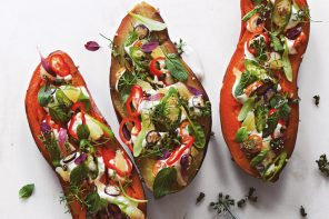 Plantlab: Crafting the Future of Food, by Matthew Kenney Fully Loaded Baked Sweet Potato