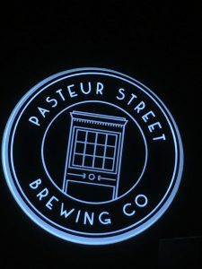 Pasteur Street Brewing Company Sign