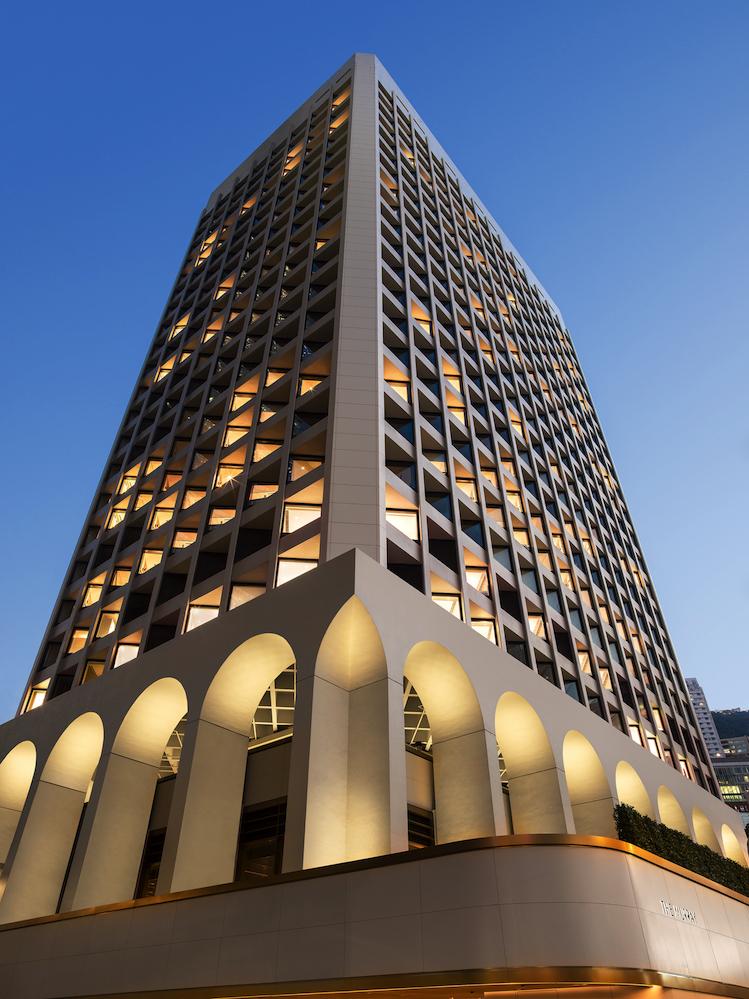 The Murray Hotel Hong Kong Facade Evening