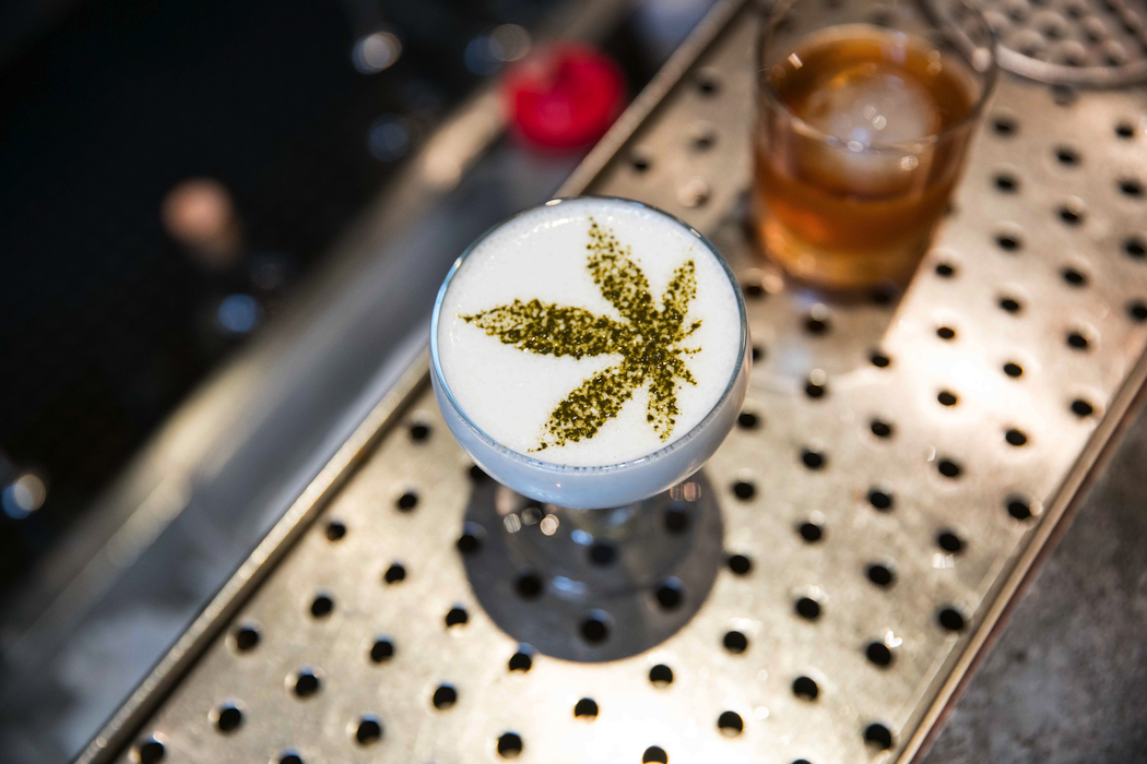 The Cannabis-themed Sour T-Iesel at Gracias Madre.