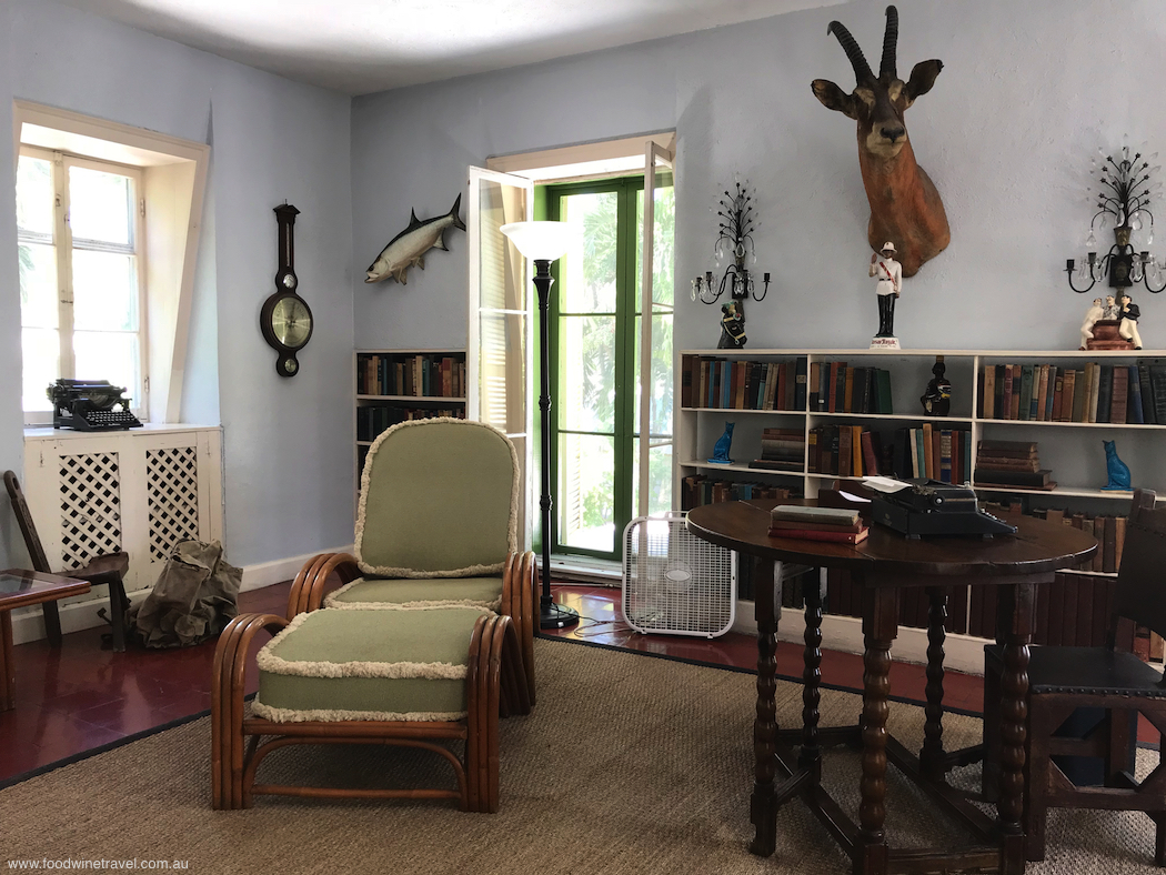 Ernest Hemingway study in house in Key West