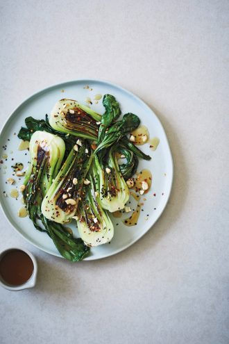 Slow Down And Grow Something, Japanese-Style Bok Choy Salad