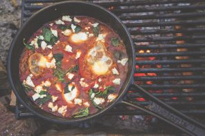 Recipe For Shakshouka from Milkwood: Real Skills For Down-To-Earth Living, by Kirsten Bradley and Nick Ritar.