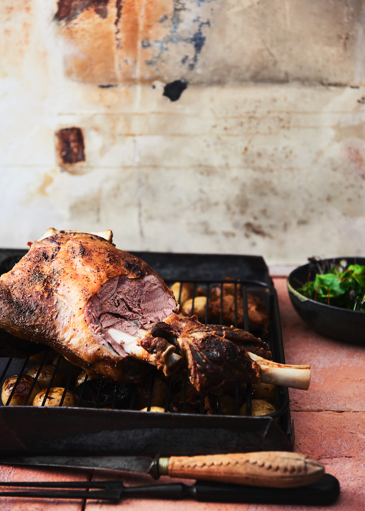 Oven Roasted Lamb Shoulder from The Catalan Kitchen