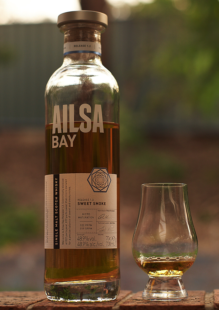 Ailsa Bay Sweet Smoke Release 1.2. Photo © David McIlroy