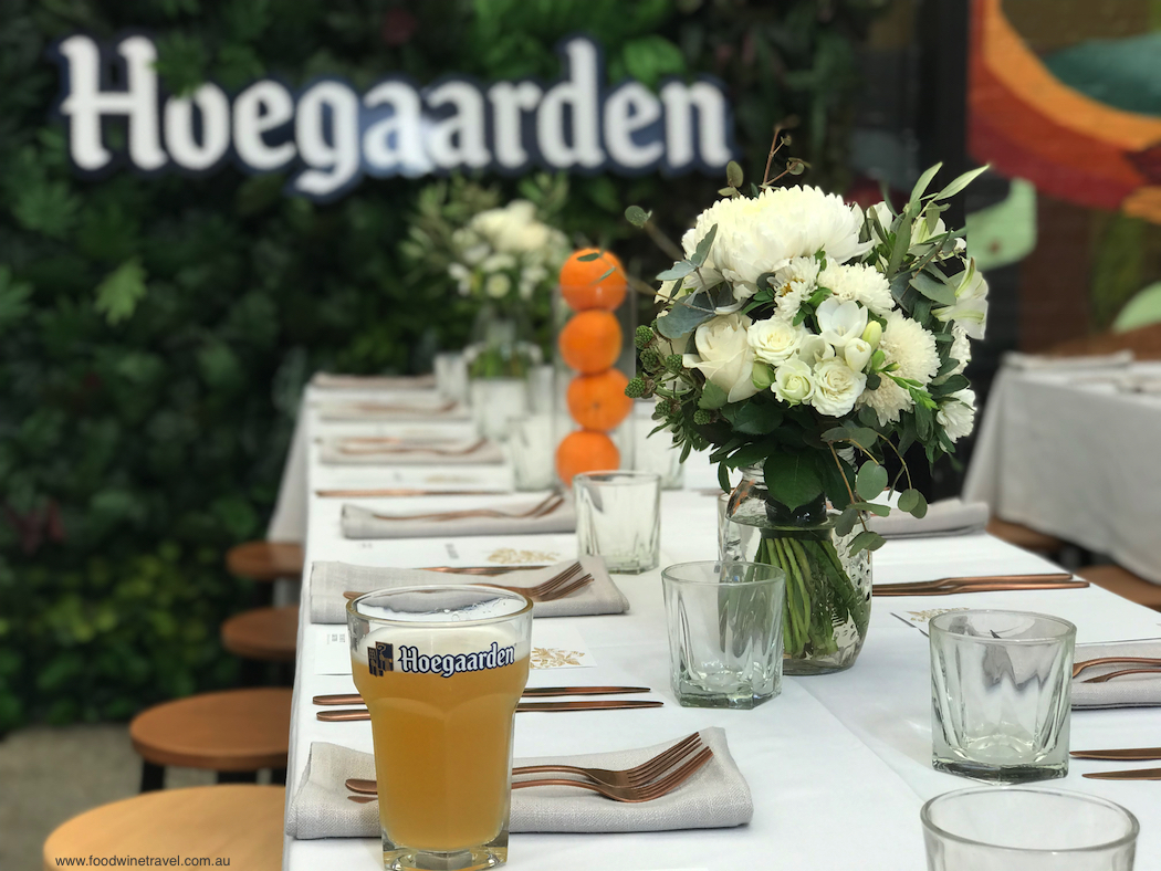 Hoegaarden Bondi Harvest lunch general photo