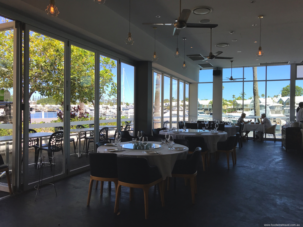 Serving authentic Chinese food, Dragon Cove looks out over the marina. Four great restaurants at Sanctuary Cove Queensland.
