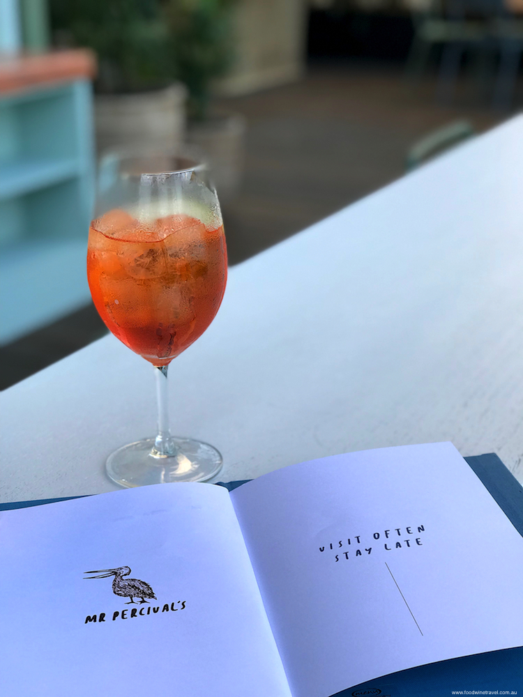 Aperol Spritz at Mr Percival's: Howard Smith Wharves' Crowning Jewel, Brisbane
