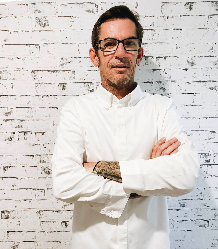Mr Percival's chef, Damien Styles.