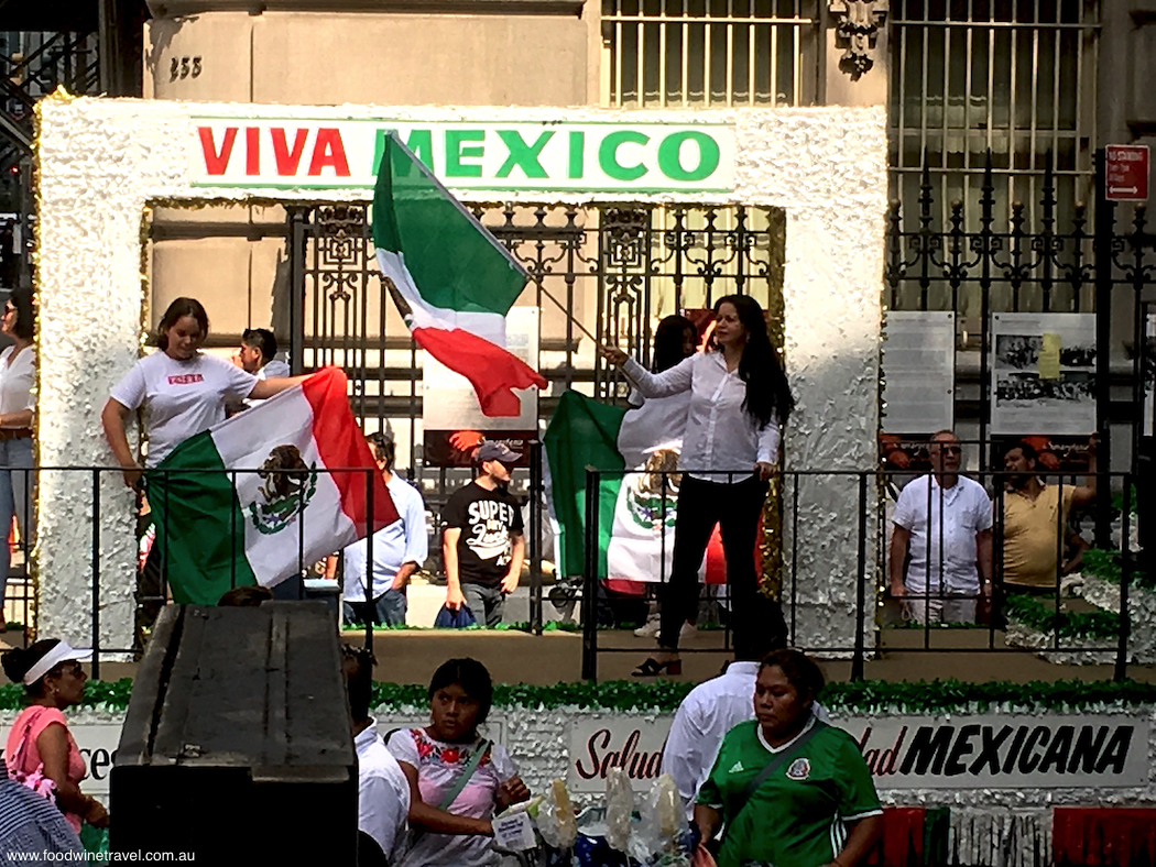 Mexican Independence Day celebrations New York City
