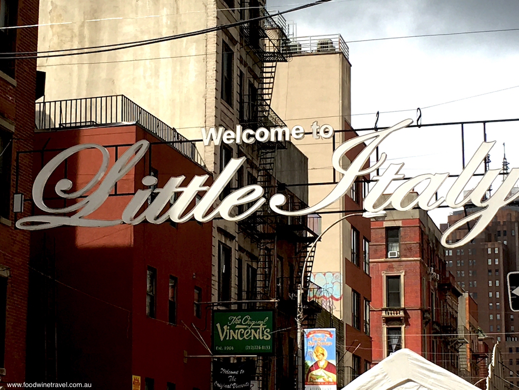Welcome to Little Italy New York
