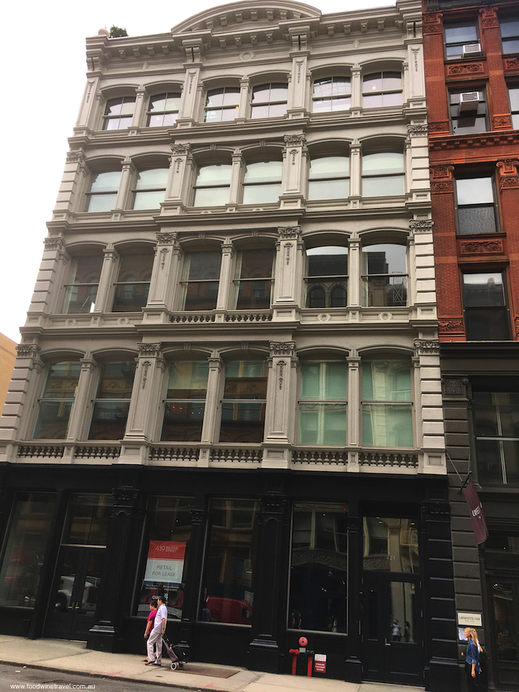 The New York building where Heath Ledger lived and died.