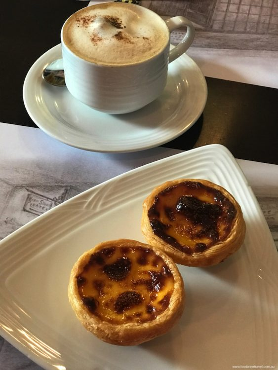 The best egg tarts ever, at Lord Stow's bakery in Macau.