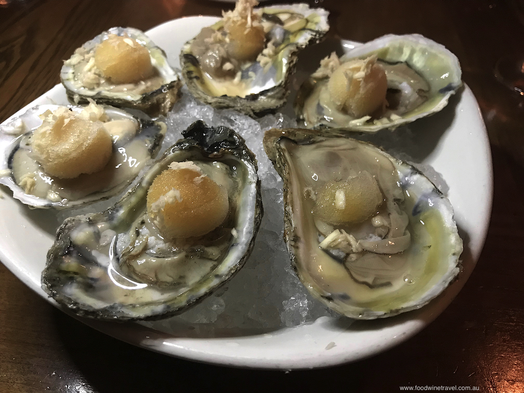 Oysters at Rivermarket Bar and Kitchen Tarrytown