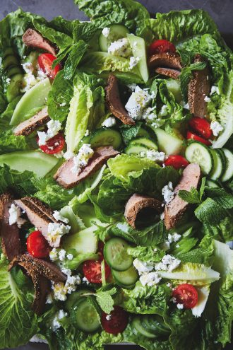 CSIRO Healthy Gut Diet Cumin Lamb HoneyDew Salad