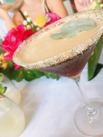 The Broadbeach and Granddad Jacks gin cocktail