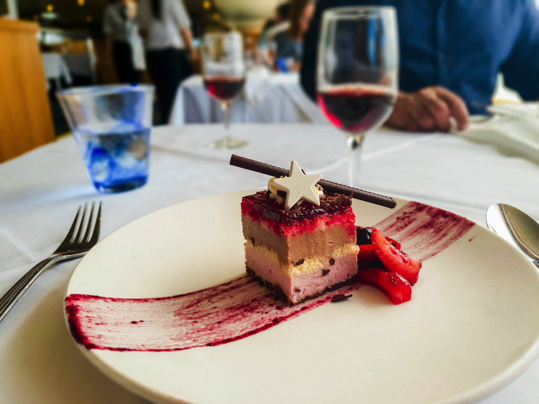 Captain Cook Cruises Berry Dessert