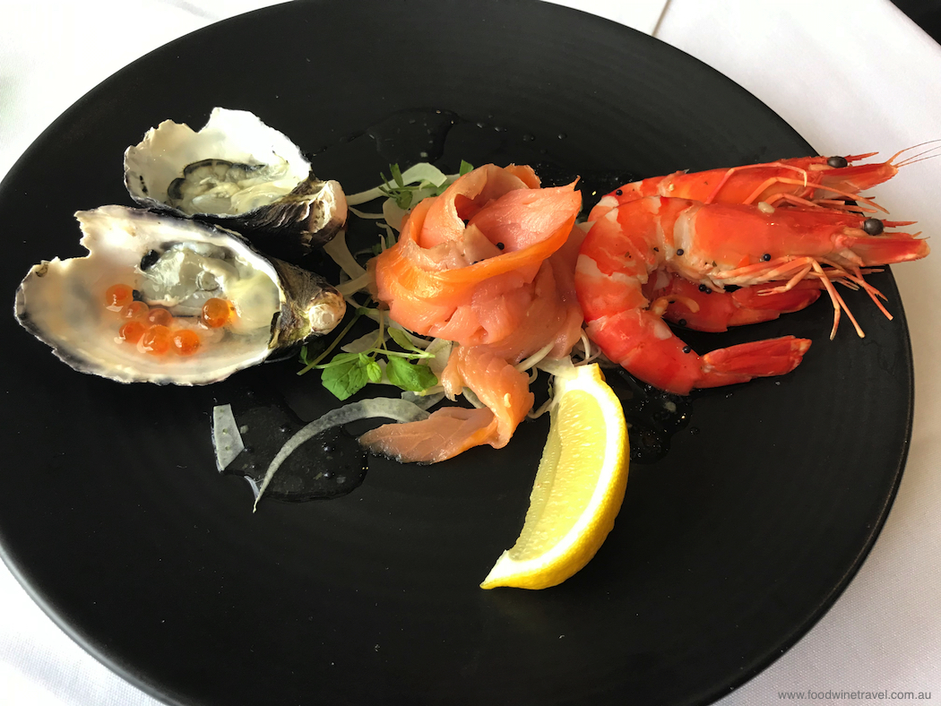 Captain Cook Cruises Seafood Plate
