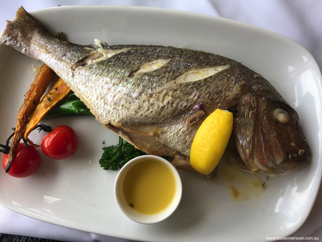 Captain Cook Cruises Whole Baby Snapper