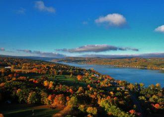 New York State Keuka Lake Fall courtesy of Joe Carroll