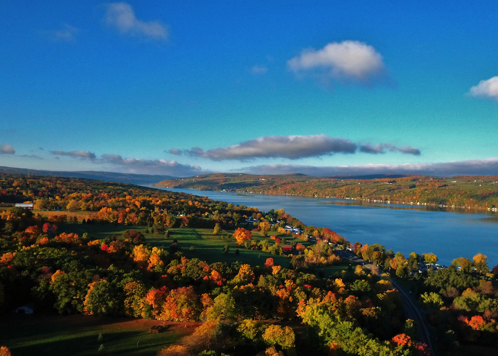 New York State Keuka Lake Fall courtesy of Joe Carroll
