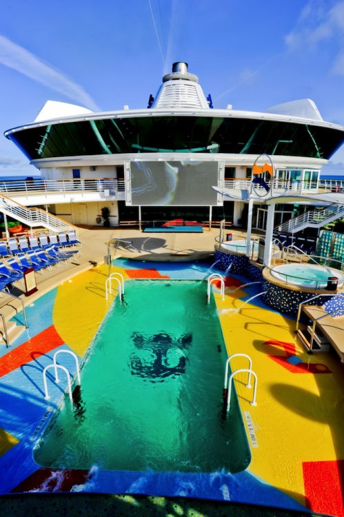 Royal Caribbean Radiance of the Seas Pool Deck