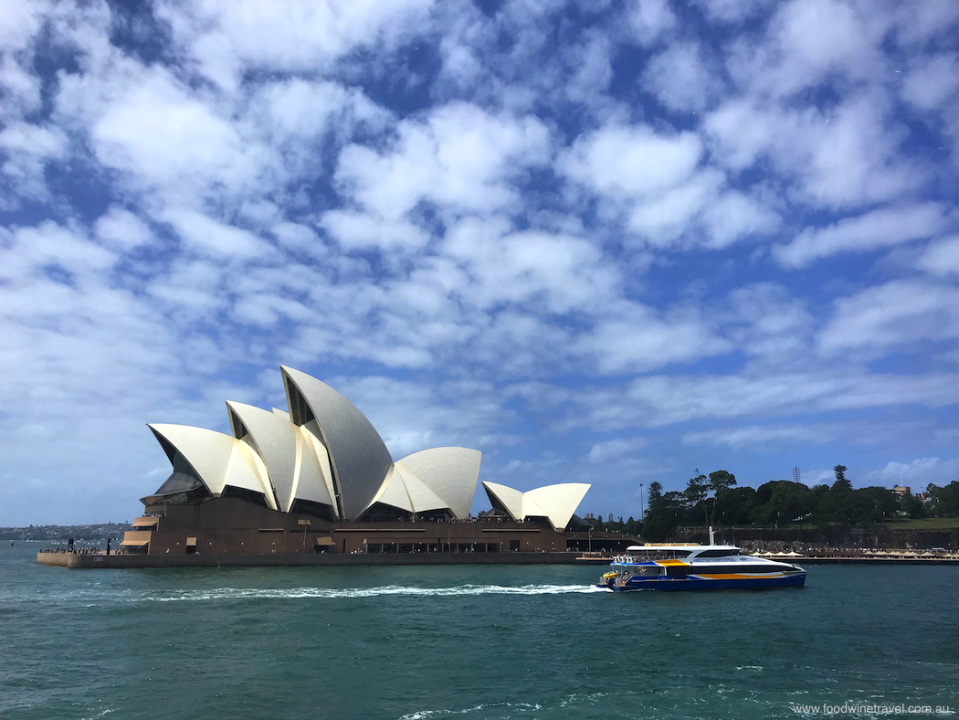 Sydney Opera House Captain Cook Cruises Sydney Harbour Gold Lunch