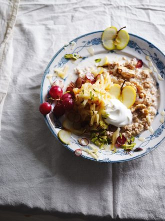 Bircher muesli, from Fruit cookbook.