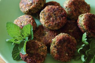 Making Falafel from scratch, from Magic Little Meals.