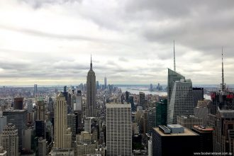 Empire State Building viewed from Top of the Rock