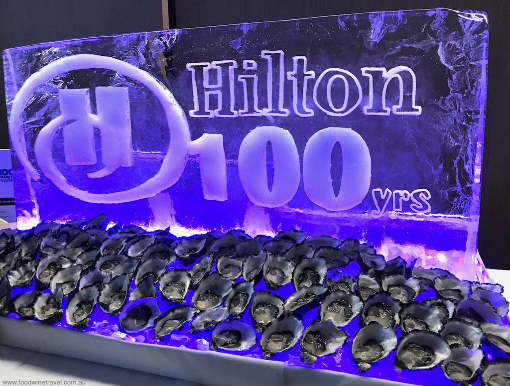 Hilton 100th Birthday Oysters