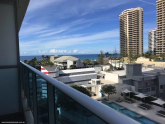 Hilton Surfers Paradise View From Balcony