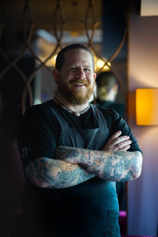 Nick Stapleton, chef at The Balfour Kitchen.