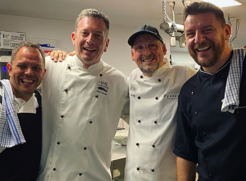 Noosa Food and Wine Festival Dinner with Friends chefs