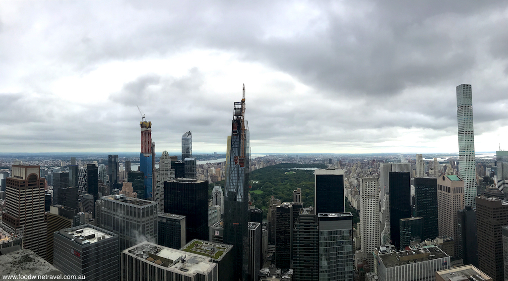 Panorama from Top of the Rock