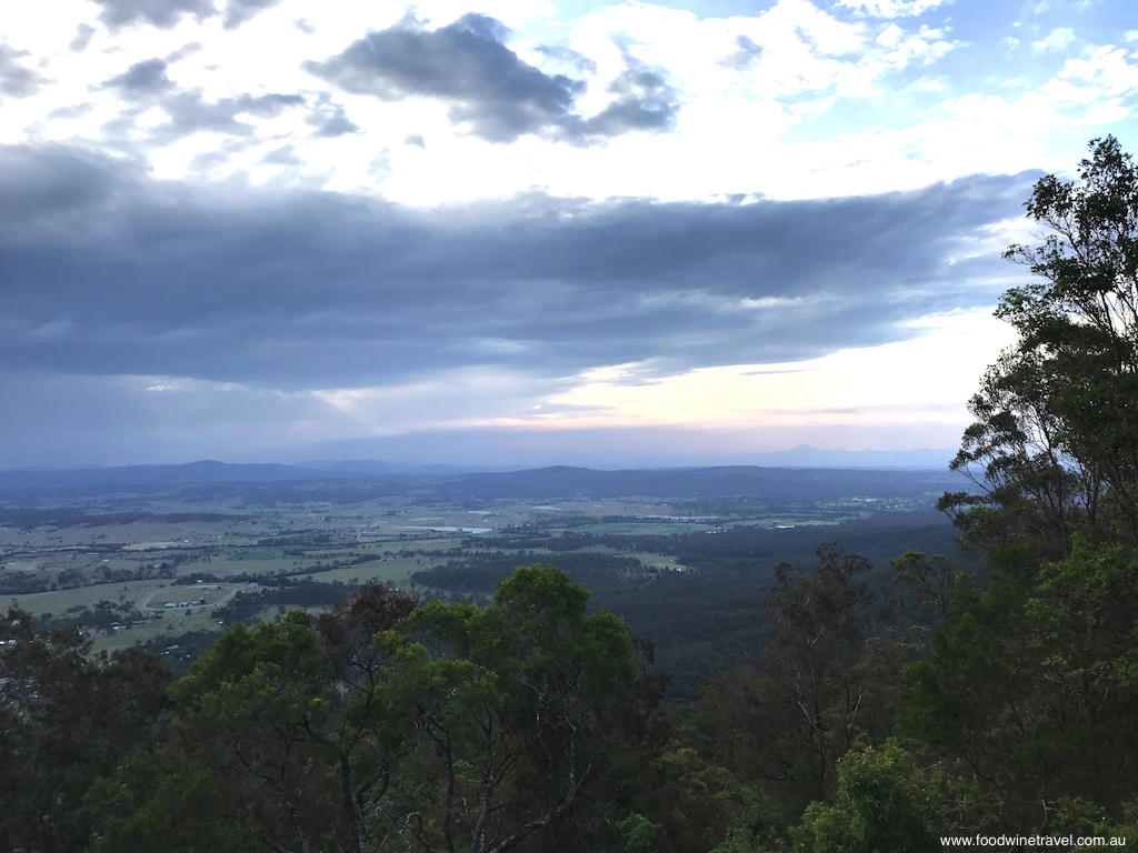 Tamborine Mountain Witches Falls Cottages View From Rotary Lookout on Main Western Road