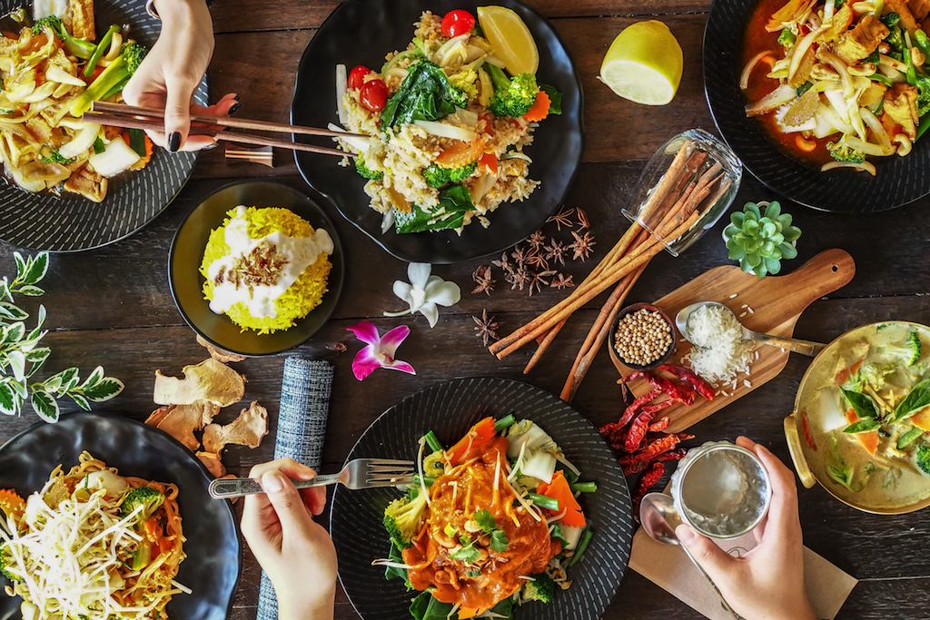 Phat Elephant caters for a range of dietary requirements, with gluten-free, vegetarian and vegan options.